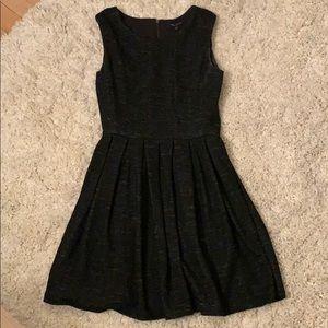 Aritzia Talula Grey Pleated Dress 0